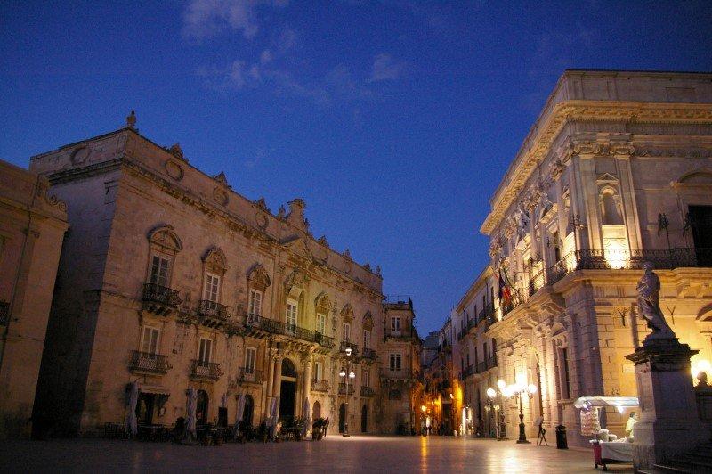 Siracusa - Palazzi di Piazza Duomo